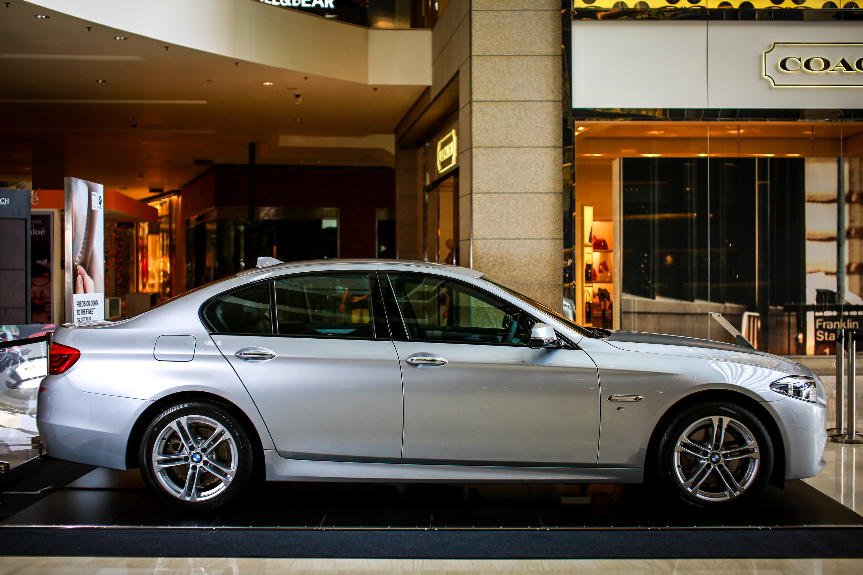 Bmw 5 Series F10 Facelift Introduced In Malaysia 520i