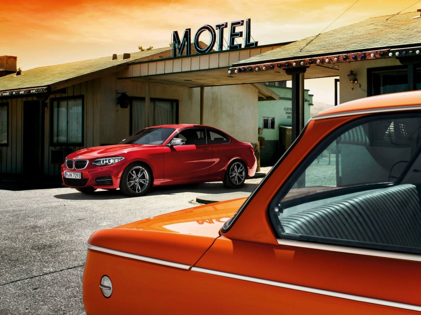 New BMW 2 Series Coupe and M235i unveiled in full Image #207204
