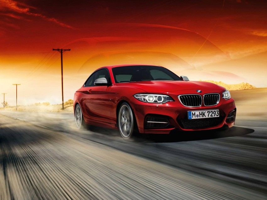 New BMW 2 Series Coupe and M235i unveiled in full Image #207208