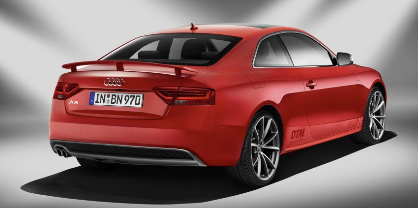 Audi A5 DTM Champion edition – limited to 300 units Image #205226