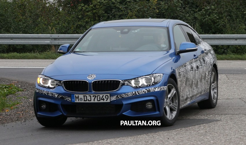 SPIED: BMW 4 Series Gran Coupe M Sport scooped Image 204644