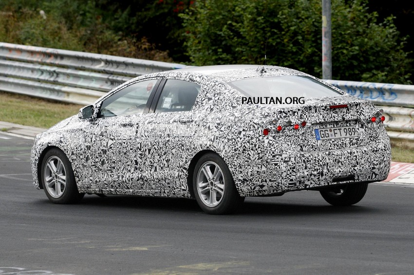 SPYSHOTS: Next-gen Chevrolet Cruze, incl interior Image #204054