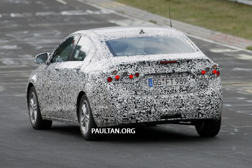 SPYSHOTS: Next-gen Chevrolet Cruze, incl interior Image #204055
