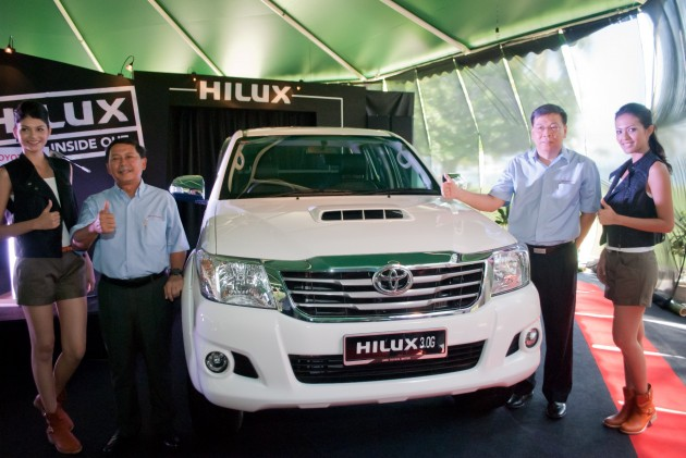 Toyota Hilux updated for 2013