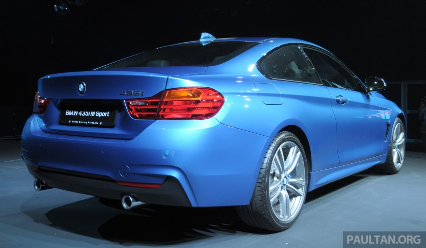 F32 BMW 4 Series launched – 3 variants, from RM359k Image #205292