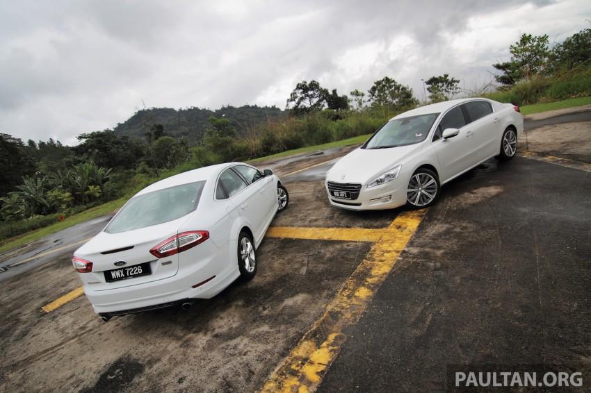 Euro D-segment comparo: Peugeot 508 GT HDi vs Ford Mondeo Ecoboost, diesel vs petrol Image #204300