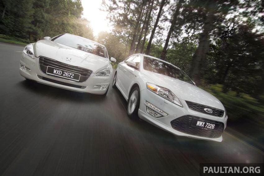 Euro D-segment comparo: Peugeot 508 GT HDi vs Ford Mondeo Ecoboost, diesel vs petrol Image #204309
