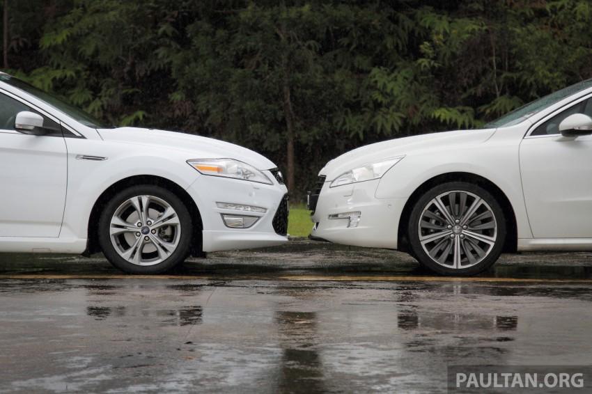 Euro D-segment comparo: Peugeot 508 GT HDi vs Ford Mondeo Ecoboost, diesel vs petrol Image #204304
