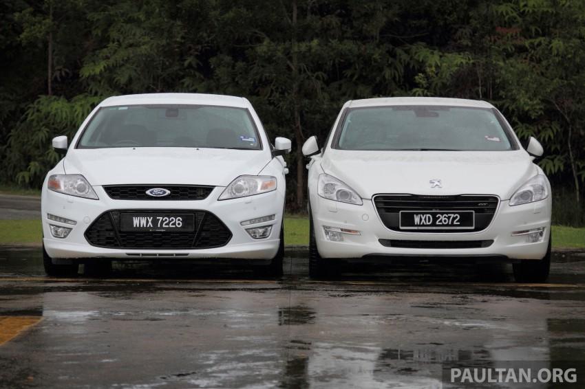 Euro D-segment comparo: Peugeot 508 GT HDi vs Ford Mondeo Ecoboost, diesel vs petrol Image #204305