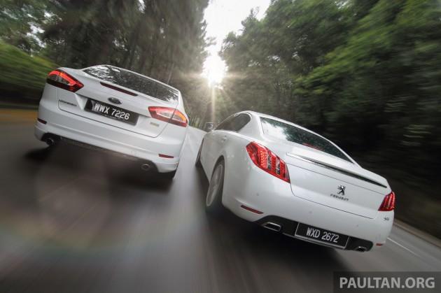 Ford Mondeo vs Peugeot 508 9