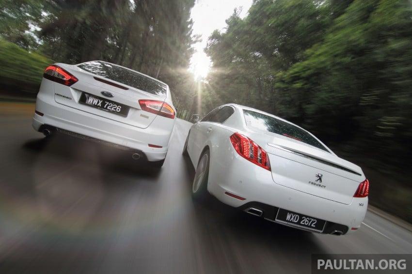 Euro D-segment comparo: Peugeot 508 GT HDi vs Ford Mondeo Ecoboost, diesel vs petrol Image #204308