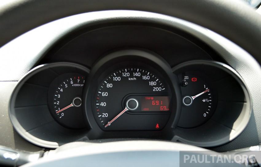 DRIVEN: Kia Picanto 1.2L Automatic and Manual Image #205138