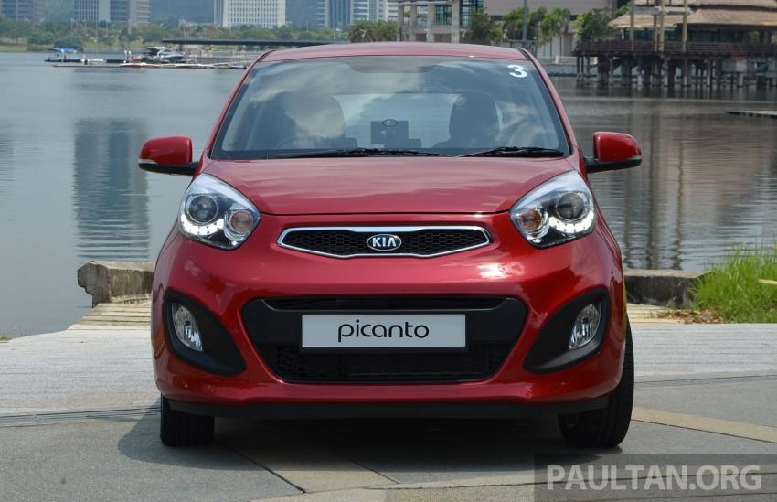 DRIVEN: Kia Picanto 1.2L Automatic and Manual Image #205140