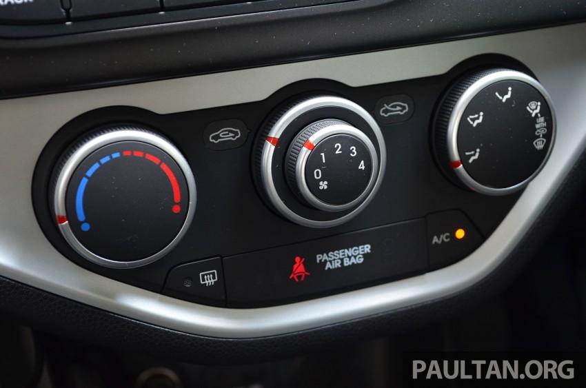 DRIVEN: Kia Picanto 1.2L Automatic and Manual Image #205128