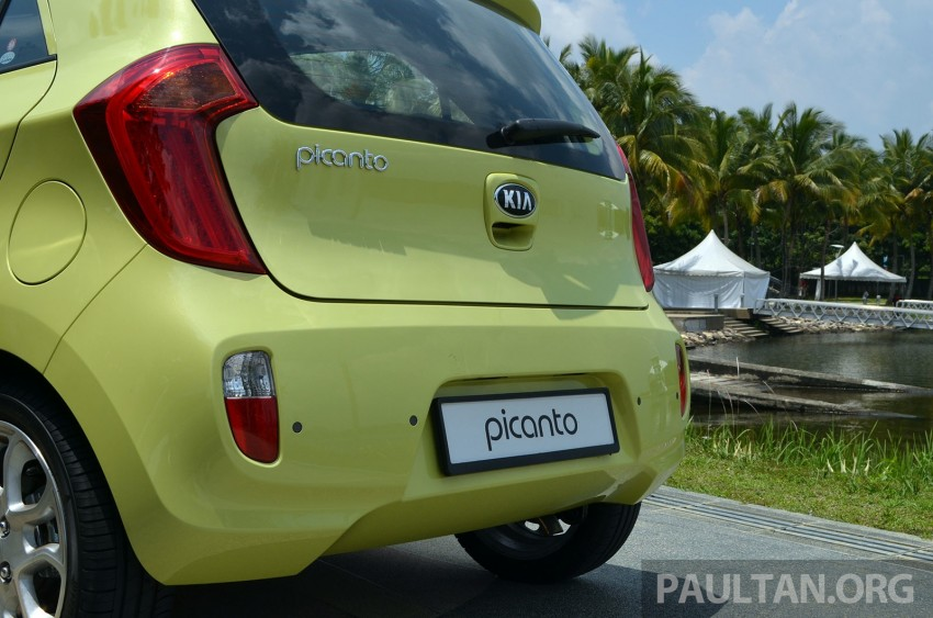 DRIVEN: Kia Picanto 1.2L Automatic and Manual Image #205149