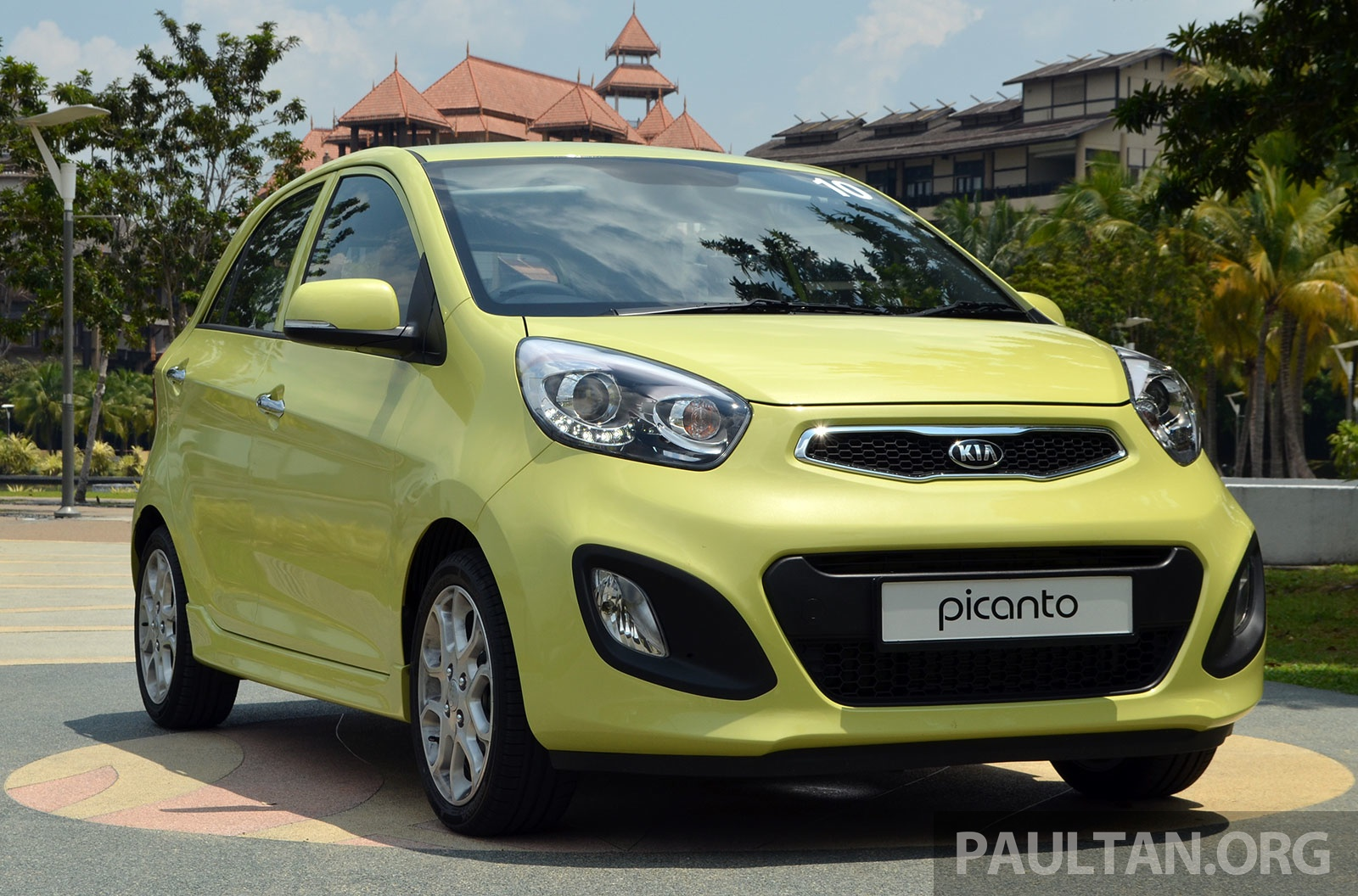 DRIVEN: Kia Picanto 1.2L Automatic and Manual Image #205150