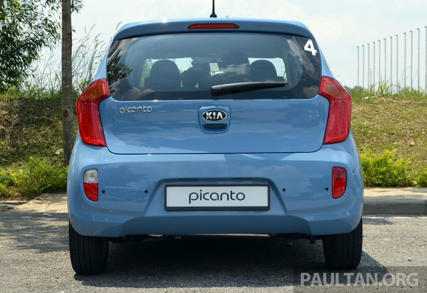 DRIVEN: Kia Picanto 1.2L Automatic and Manual Image #205155