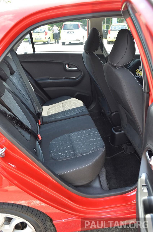 DRIVEN: Kia Picanto 1.2L Automatic and Manual Image #205168