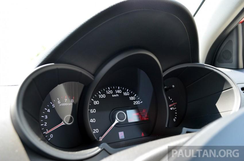 DRIVEN: Kia Picanto 1.2L Automatic and Manual Image #205173