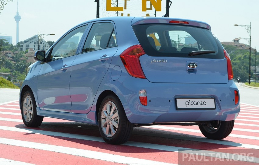 DRIVEN: Kia Picanto 1.2L Automatic and Manual Image #205131