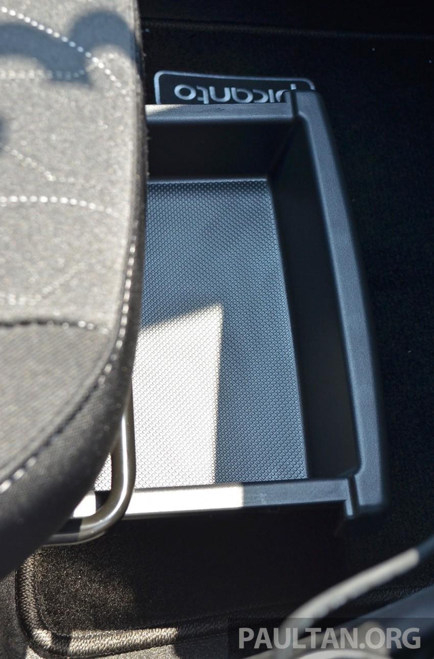 DRIVEN: Kia Picanto 1.2L Automatic and Manual Image #205179