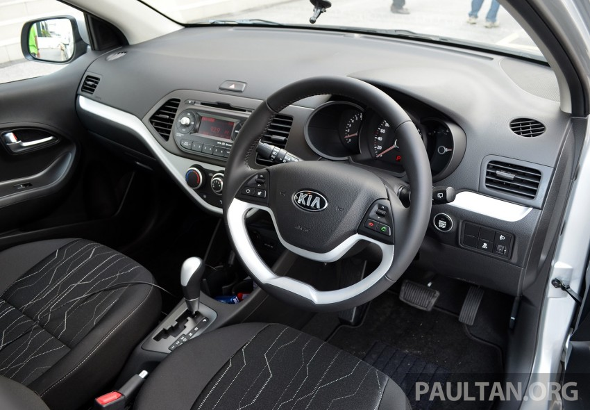 DRIVEN: Kia Picanto 1.2L Automatic and Manual Image #205182