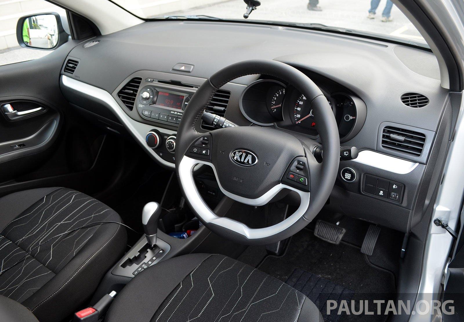 DRIVEN: Kia Picanto 1.2L Automatic and Manual Image #205182