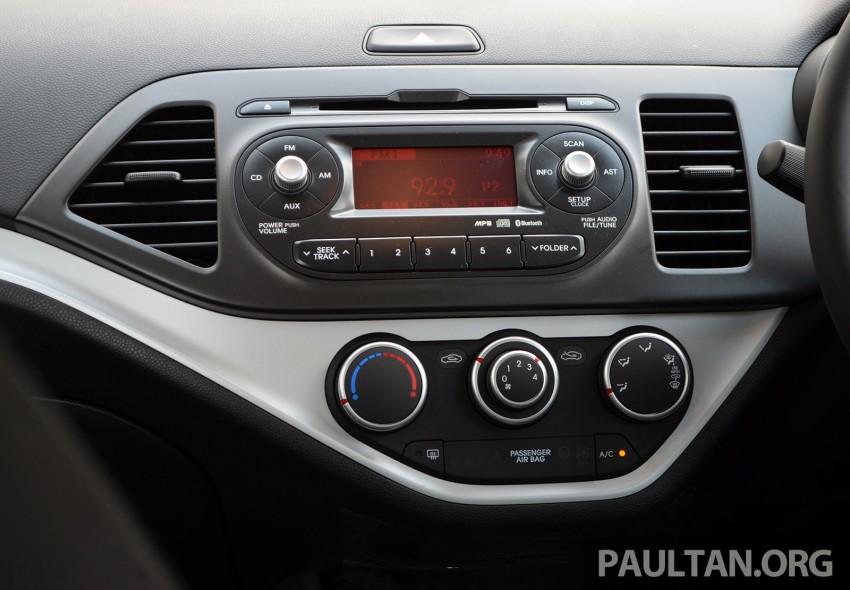 DRIVEN: Kia Picanto 1.2L Automatic and Manual Image #205184