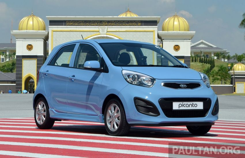 DRIVEN: Kia Picanto 1.2L Automatic and Manual Image #205132