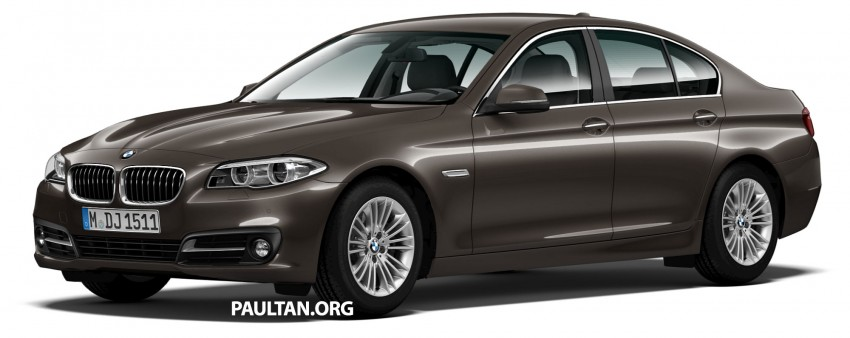 BMW 5 Series (F10) facelift introduced in Malaysia – 520i RM370k, 520d RM355k, 528i M Sport RM420k Image #202703