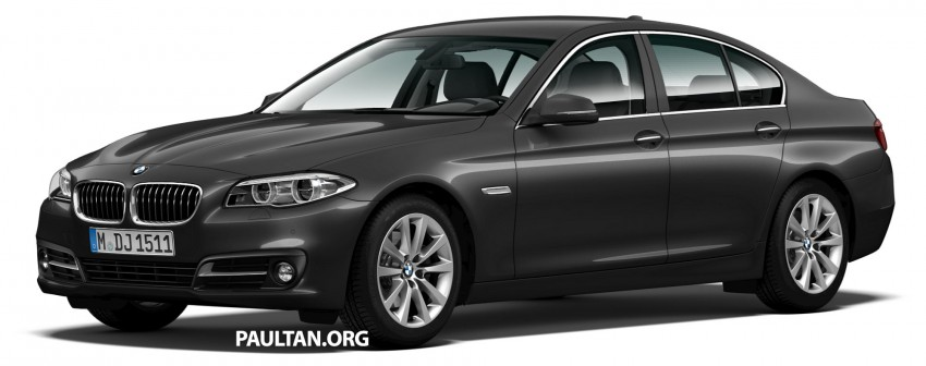 BMW 5 Series (F10) facelift introduced in Malaysia – 520i RM370k, 520d RM355k, 528i M Sport RM420k Image #202701