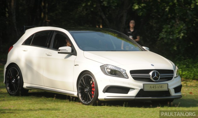 Mercedes Benz A 45 Amg Introduced In Malaysia