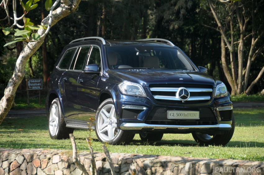 Mercedes-Benz GL 500 launched in Malaysia – RM913k Image #203982