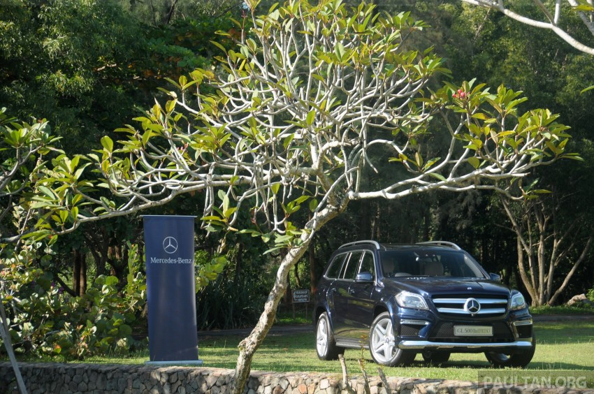 Mercedes-Benz GL 500 launched in Malaysia – RM913k Image #203983