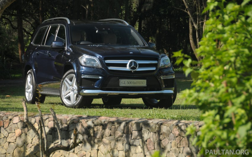Mercedes-Benz GL 500 launched in Malaysia – RM913k Image #203984