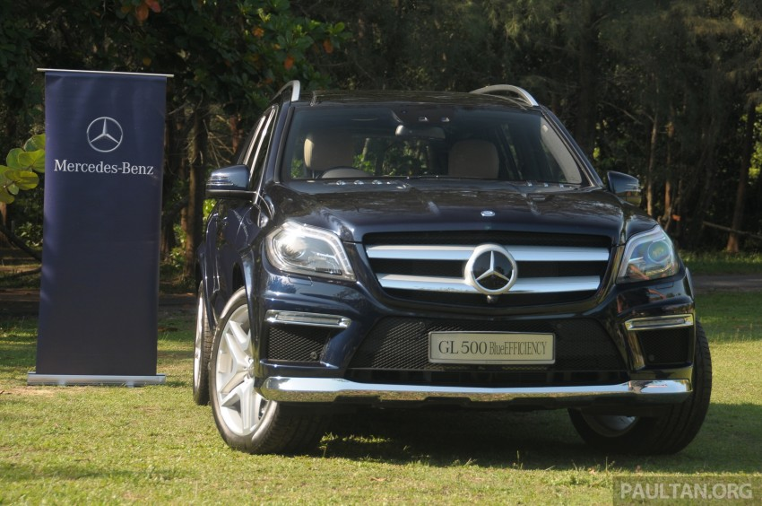 Mercedes-Benz GL 500 launched in Malaysia – RM913k Image #203986