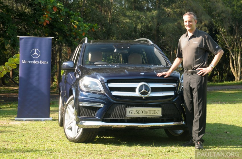 Mercedes-Benz GL 500 launched in Malaysia – RM913k Image #203987