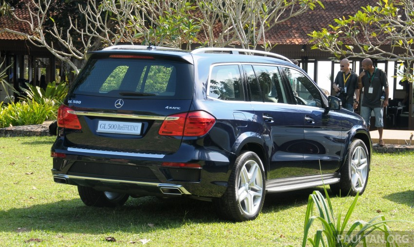 Mercedes-Benz GL 500 launched in Malaysia – RM913k Image #203996