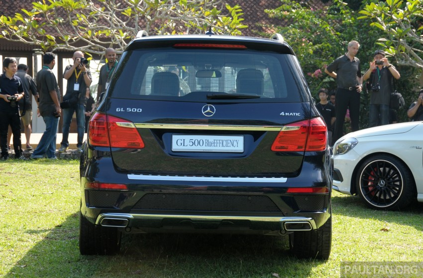 Mercedes-Benz GL 500 launched in Malaysia – RM913k Image #203997
