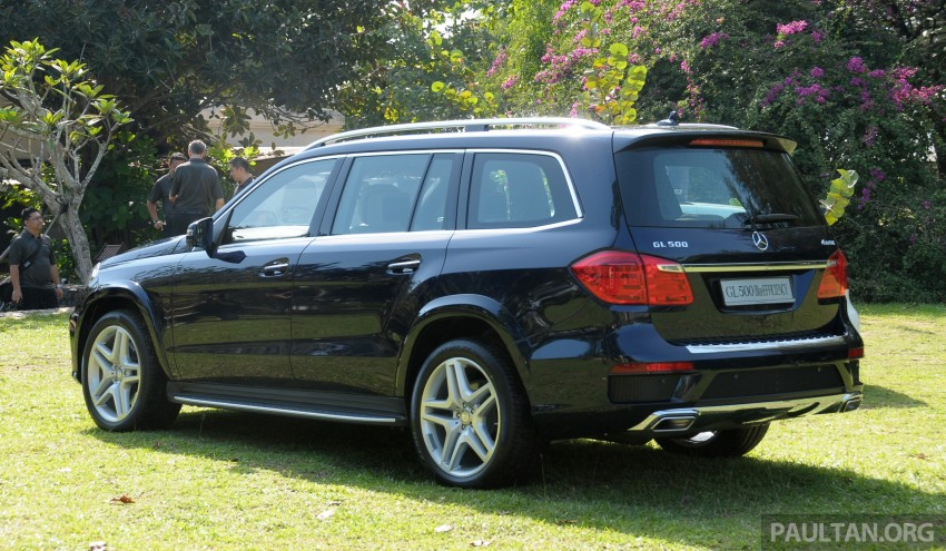 Mercedes-Benz GL 500 launched in Malaysia – RM913k Image #203998
