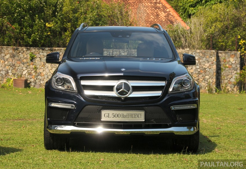 Mercedes-Benz GL 500 launched in Malaysia – RM913k Image #203981