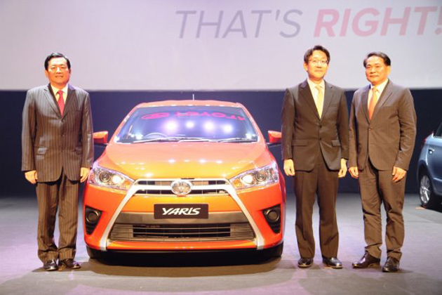 New Toyota Yaris (Vios hatchback) debuts in Thailand Image #206127