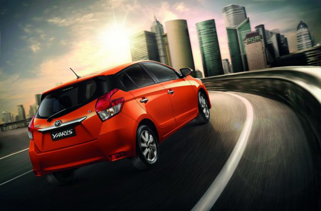 New Toyota Yaris (Vios hatchback) debuts in Thailand Image #206133