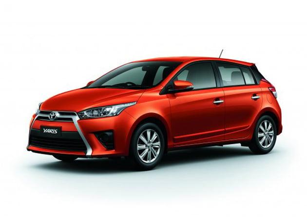 New Toyota Yaris Vios Hatchback Debuts In Thailand Paul Tan