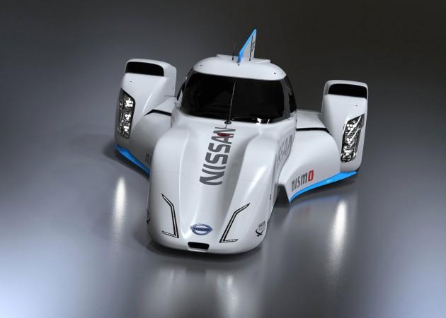 Nissan Zeod Rc Electric Racecar For Le Mans 2014