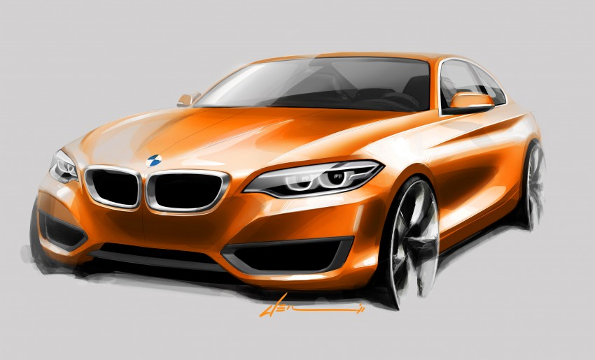 New BMW 2 Series Coupe and M235i unveiled in full Image #206507