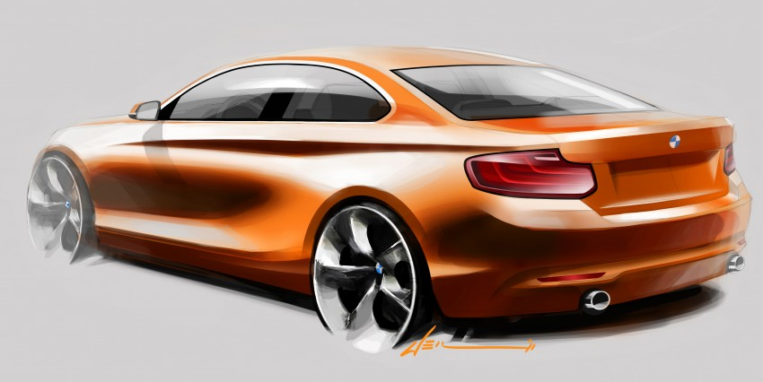 New BMW 2 Series Coupe and M235i unveiled in full Image #206506
