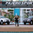 Pajero Sport VGT & GL with models