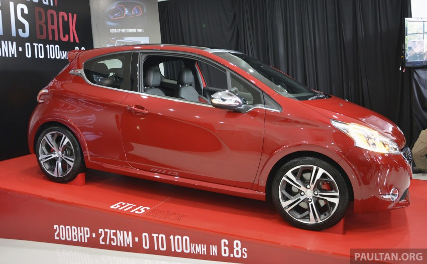 Peugeot 208 GTi launched in Malaysia – RM139,888 Image #203848