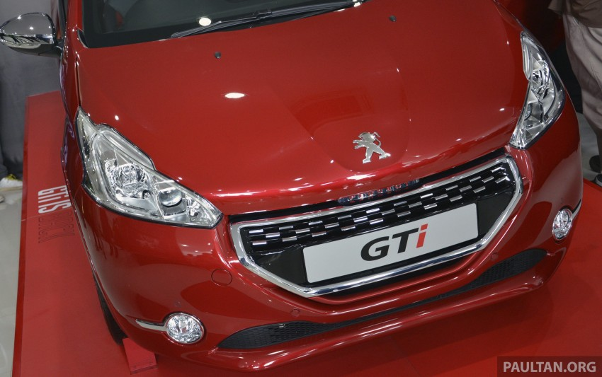 Peugeot 208 GTi launched in Malaysia – RM139,888 Image #203849